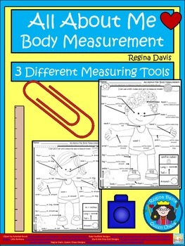 A+  All About Me...Body Measurement: Differentiated Math I