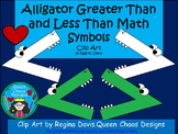 A+ Alligator Greater Than and Less Than Math Symbols