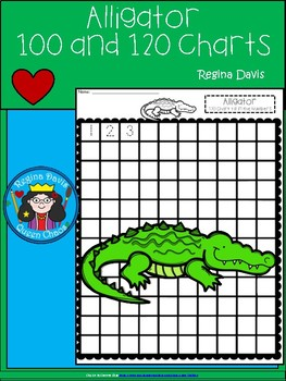 A+ Alligator: Numbers 100 and 120 Chart