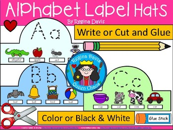 A+ Alphabet Letter Hats