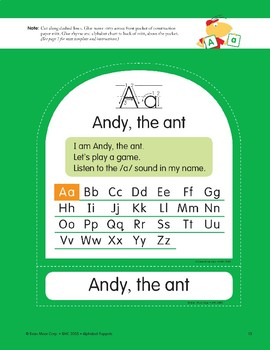 A: Andy, the Ant