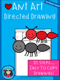 A+ Ant Art: Directed Drawing