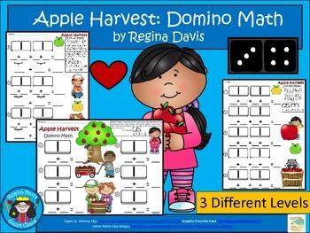 A+ Addition Apple Harvest: Domino Math