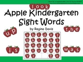 A+ Apple Kindergarten Sight Words