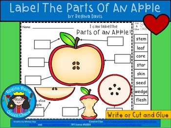 A+ Apple Labels