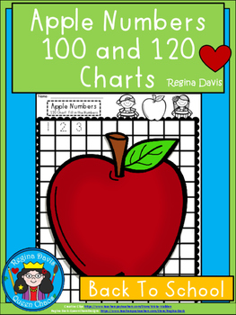 A+ Apple Numbers 100 and 120 Chart