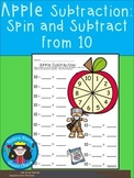 A+ Apple Subtraction: Spin And Subtract From 10