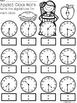 A+ Apples Analog Clock & Digital Clock Work (Hour & Half Hour)