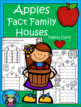A+ Apples: Fact Family Houses