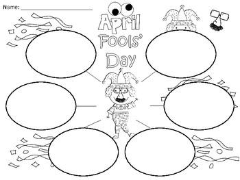 A+  April Fools' Day ... Three Graphic Organizers