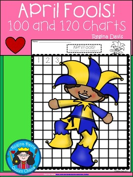A+ April Fools! Numbers 100 and 120 Chart