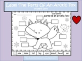 A+ Arctic Fox: Label The Parts Of The Arctic Fox