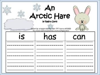 A+ Arctic Hare: Three Graphic Organizers