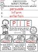 A+ Author's Purpose: P.I.E.