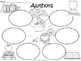 A+  Authors ... Three Graphic Organizers