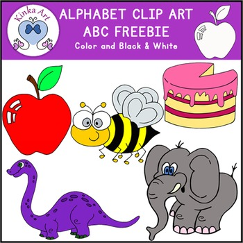 a b c letter clip art beginning sounds alphabet freebie by kinka art rh teacherspayteachers com clipart sound clip art sound clips for powerpoint