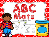 A,B,C Letter Mats