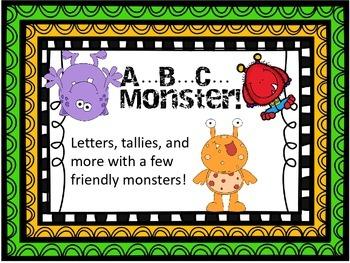 A B C...Monster!