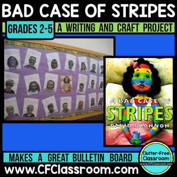 Bad Case of Stripes | Descriptive Writing |Bad Case of Stripes Bulletin Board