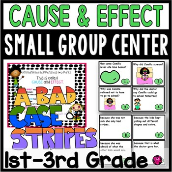 Cause and Effect Center Activities for A Bad Case of Stripes