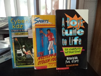 A BOYS GUIDE TO LIFE,  SPORTS,CYBER.KDZ      (set of 3)