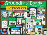 A+  BUNDLE Groundhog Day...Language Arts and Math Combinat