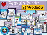 A+  BUNDLE:  Penguin Pack...Language Arts and Math Pack
