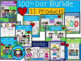 A+  BUNDLED 100th Day of School...Language Arts and Math Combination Pack!