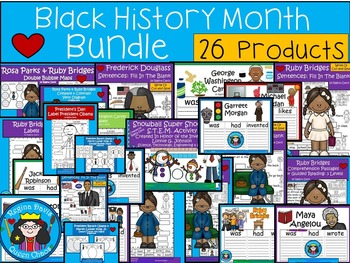 A+  BUNDLED Black History Month...Combination Pack!