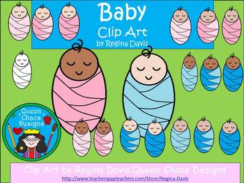 A+ Babies Sleeping Clip Art