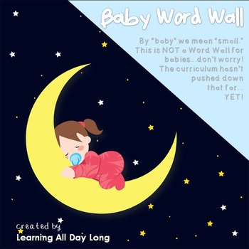 A Baby Word Wall