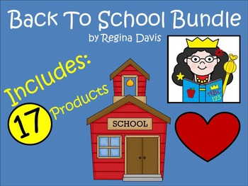 A+ Back To School Bundle....17 TPT Products!