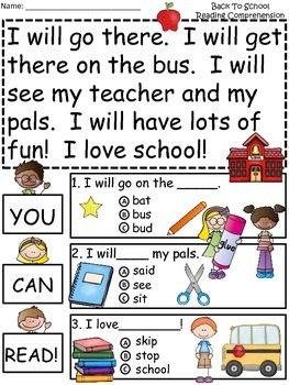 A+ Back To School Comprehension: Differentiated Instruction For Guided Reading