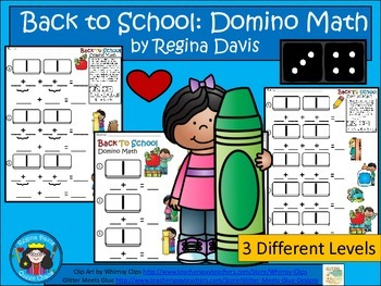 A+ Addition Back To School: Domino Math