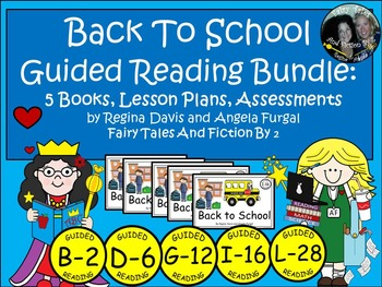 A+ Back To School Guided Reading Set-5 Books, Lesson Plans, Assessments
