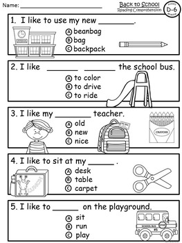 A+ Back To School-Level D-6 Guided Reading-Book, Lesson Plan,Assessments