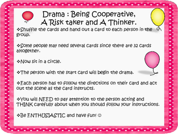 Back to School and Making Friends with Drama Circles and Activity
