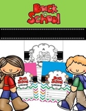 Back to School Welcome Student Folder Covers