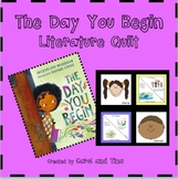"""A Back-to-School Literature Quilt: """"The Day You Begin"""""""