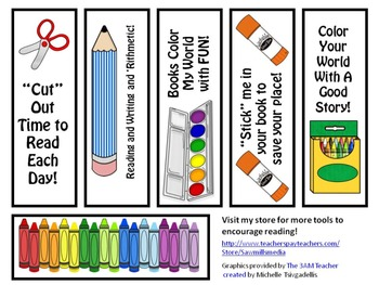 A Back to School Treat - Bookmarks
