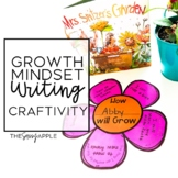 A Growth Mindset Writing Crafitivity with Mrs. Spitzer's Garden