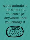 A Bad Attitude is Like (recipe for success)