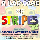 A Bad Case Of Stripes by David Shannon Reading Lessons & A