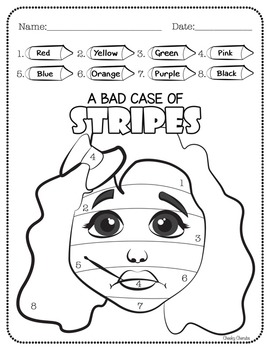 A Bad Case of STRIPES - Activities