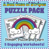 A Bad Case of Stripes Activity Pack