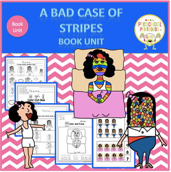 A Bad Case of Stripes   Book Unit