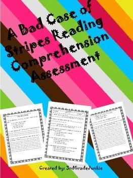 A Bad Case of Stripes Comprehension Assessment