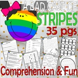 A Bad Case of Stripes * Comprehension Book Companion Activity Unit Back School