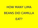 A Bad Case of Stripes/Counting to 10/How Many Lima Beans Did Camilla Eat?