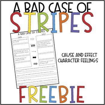 A Bad Case of Stripes FREEBIE